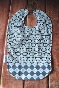 bavoir lunettes etsy
