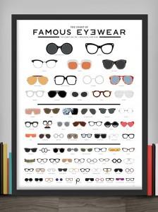 papier peint lunettes